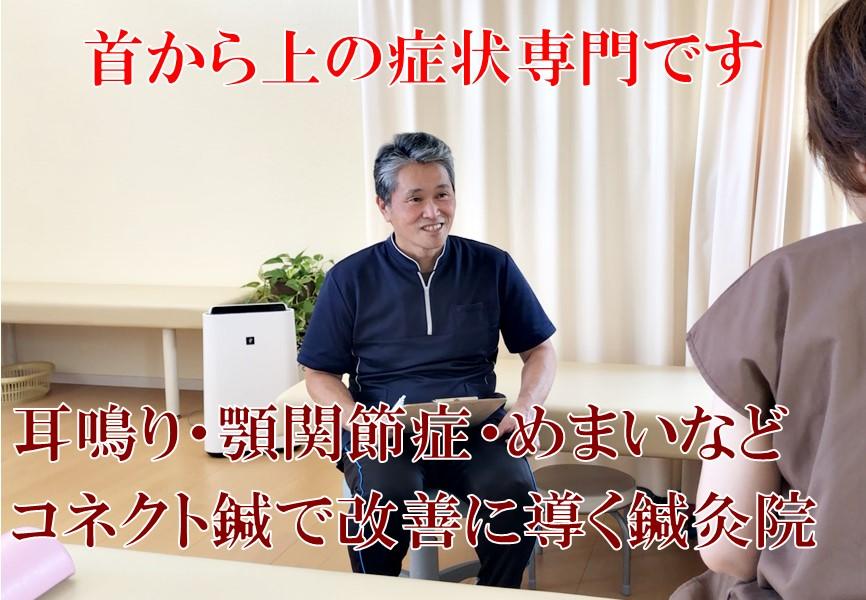 浜松の鍼灸院「首から上の症状専門」